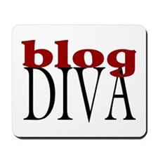 Blog Diva Mousepad