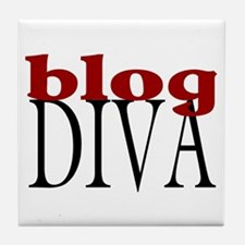 Blog Diva Tile Coaster