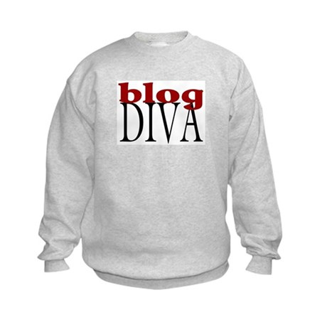 Blog Diva Kids Sweatshirt
