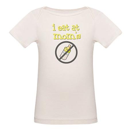i eat at mom's yellow Organic Baby T-Shirt