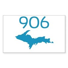 906 4 LIFE Rectangle Decal