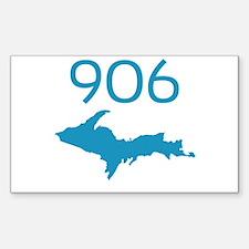 906 4 LIFE Rectangle Sticker 50 pk)
