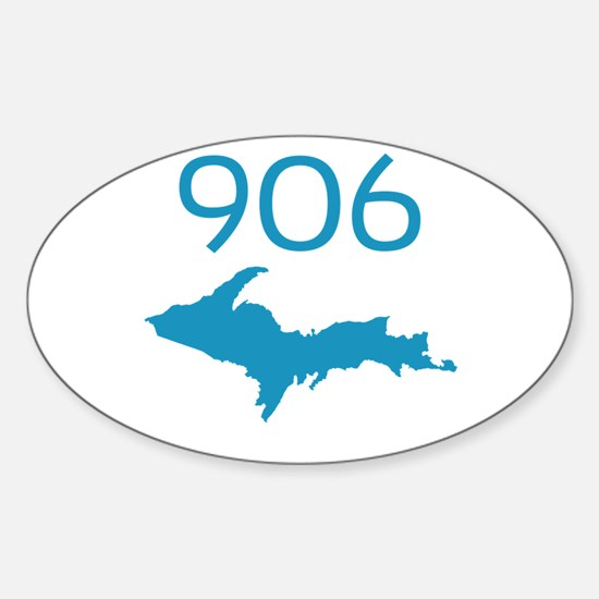 906 4 LIFE Oval Decal
