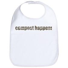 Compost Happens Bib