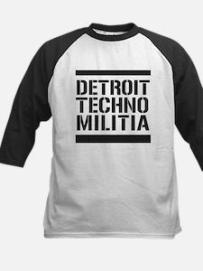 Detroit Techno Militia Kids Baseball Jersey