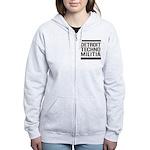 Detroit Techno Militia Women's Zip Hoodie