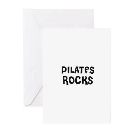 PILATES ROCKS Greeting Cards (Pk of 10)