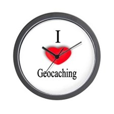 Geocaching Wall Clock