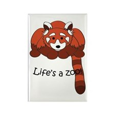 Red panda Rectangle Magnet