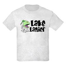 Lake Lanier Youth Fishing Tee