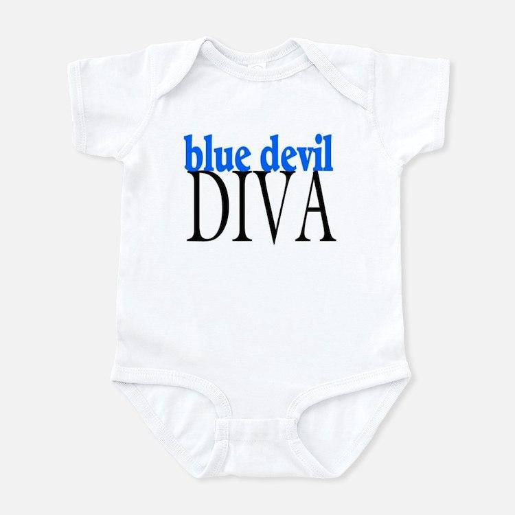 Blue Devil Diva Infant Bodysuit