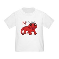 N is for Newt T