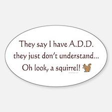 ADD Squirrel Decal