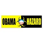 Obama Hazard Bumper Sticker (10 pk)