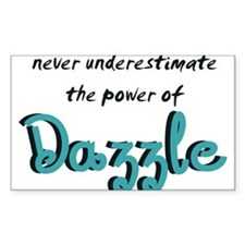 Dazzle Power Rectangle Decal