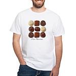 Chocolate Lover White T-Shirt