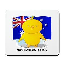 Australian Chick Mousepad