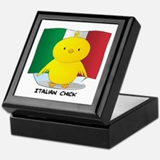 Italian Chick Keepsake Box