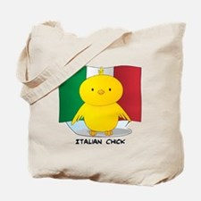 Italian Chick Tote Bag