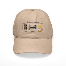 Grandma ESHope Leukemia Baseball Cap