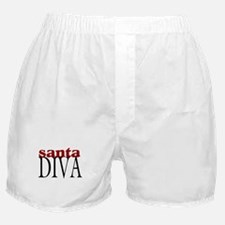 Santa Diva Boxer Shorts