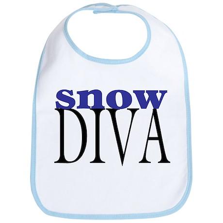 Snow Diva Bib