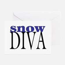 Snow Diva Greeting Cards (Pk of 10)