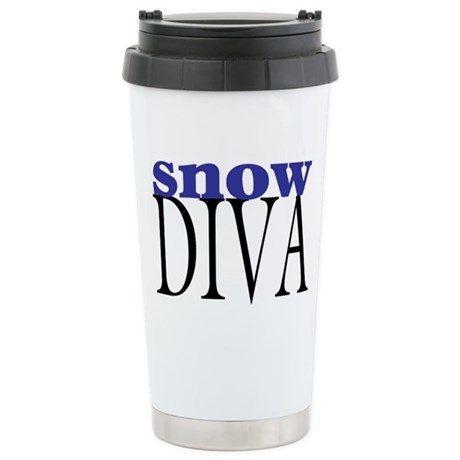 Snow Diva Stainless Steel Travel Mug