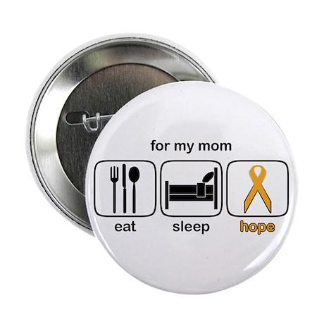 """Mom ESHope Leukemia 2.25"""" Button"""