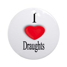 Draughts Ornament (Round)