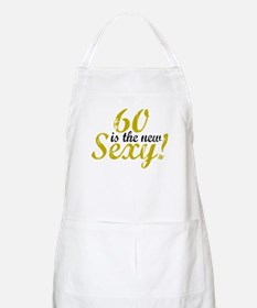 60 is the new Sexy BBQ Apron