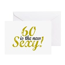 60 is the new Sexy Greeting Card