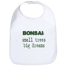 Cute Bonsai tree Bib