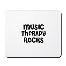 MUSIC THERAPY  ROCKS Mousepad