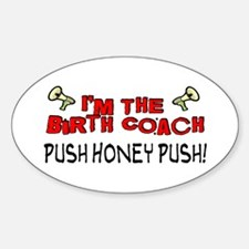 Birth Coach Oval Decal