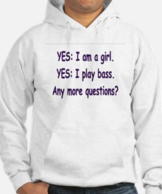 Funny Funny bass guitar Hoodie
