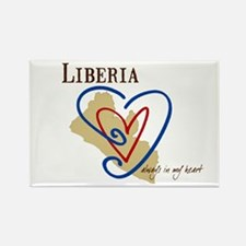 Liberia~always in my heart/Rectangle Magnet
