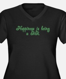 Happiness is being a GiGi Women's Plus Size V-Neck