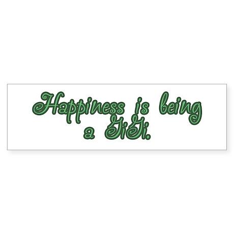 Happiness is being a GiGi Bumper Sticker