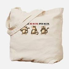 Hear No Evil... Tote Bag