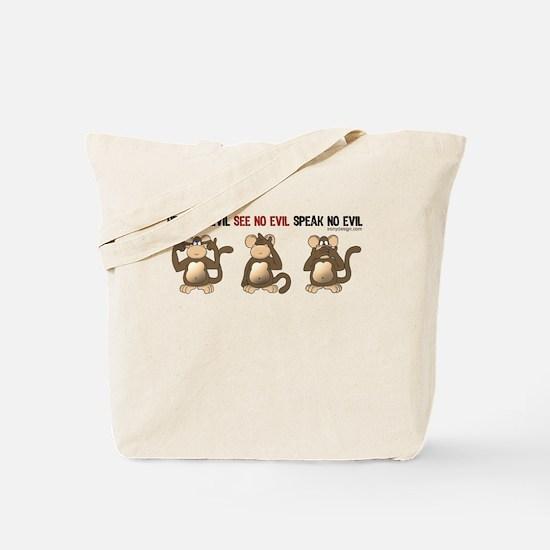 Hear No Evil... Tote Bag