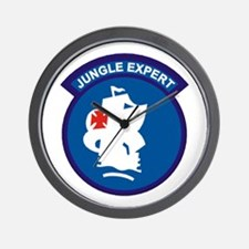 Jungle Expert Wall Clock