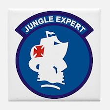 Jungle Expert Tile Coaster