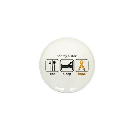Sister ESHope Leukemia Mini Button