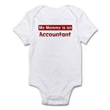 Mom is a Accountant Infant Bodysuit