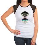 WORLDBEAT Women's Cap Sleeve T-Shirt
