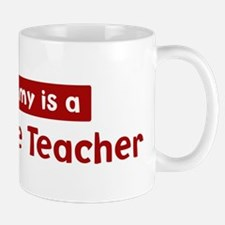 Mom is a 3rd Grade Teacher Mug