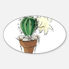 CACTUS_0919 Oval Decal