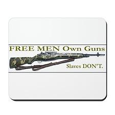 Free Men own rifles Mousepad