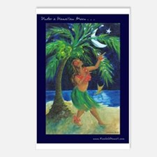 Under a Hula Moon Postcards (Package of 8)